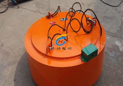 水泥厂用电磁除铁器